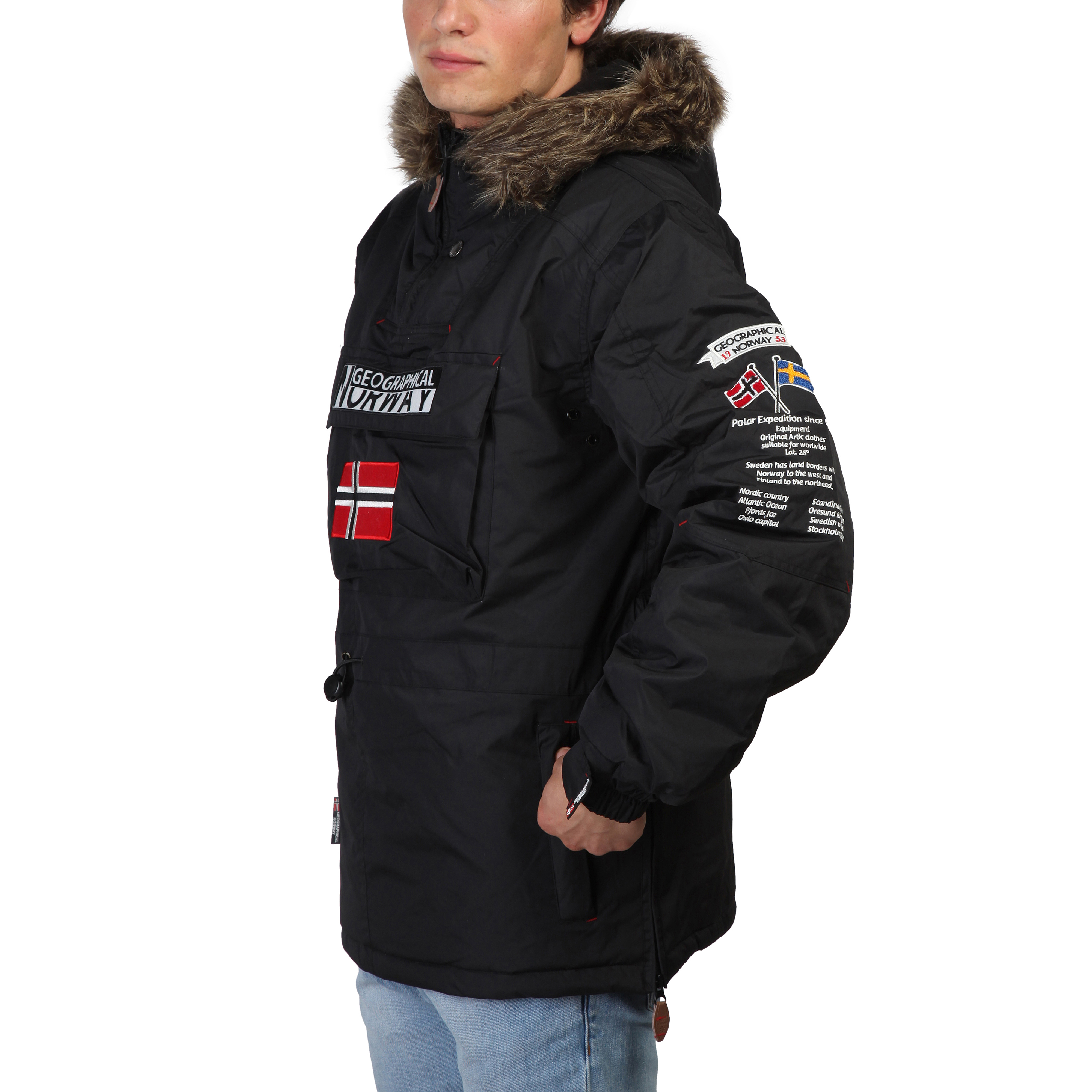 norway geographical jakke